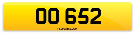 Registration OO 652