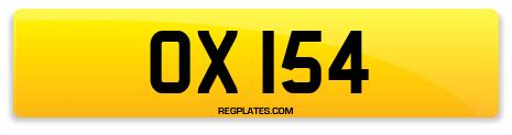 Registration OX 154