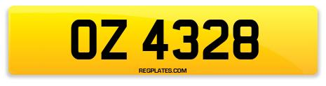 Registration OZ 4328