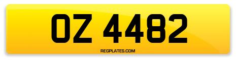 Registration OZ 4482