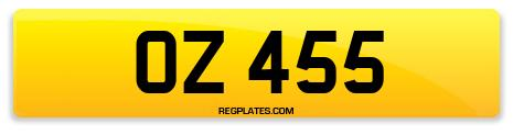 Registration OZ 455