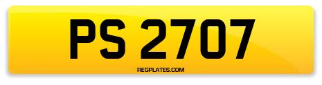 Registration PS 2707