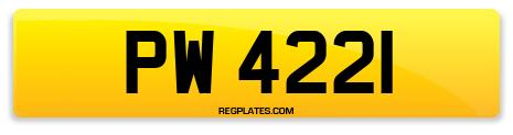 Registration PW 4221
