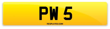 Registration PW 5
