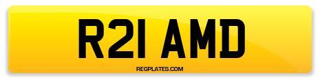 Registration R21 AMD