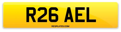 Registration R26 AEL