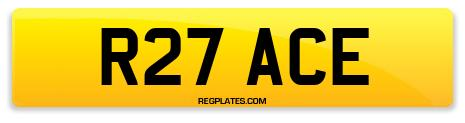 Registration R27 ACE