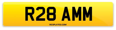 Registration R28 AMM