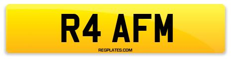 Registration R4 AFM