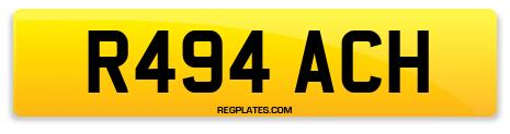 Registration R494 ACH