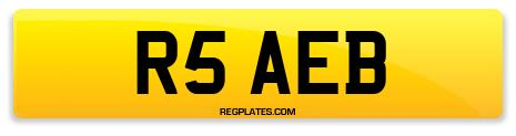 Registration R5 AEB