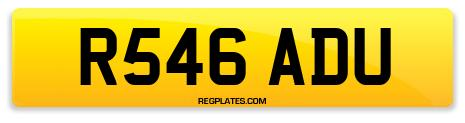Registration R546 ADU