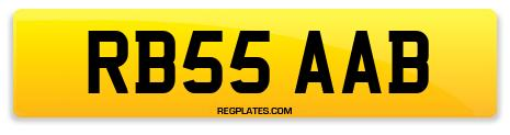 Registration RB55 AAB
