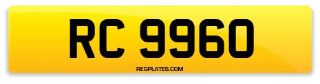Registration RC 9960