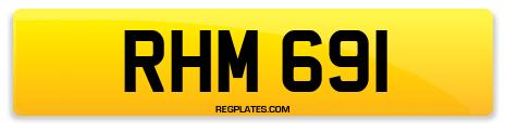 Registration RHM 691