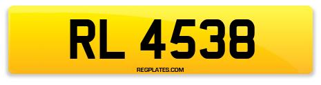 Registration RL 4538