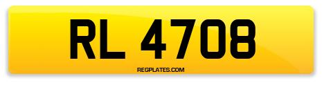 Registration RL 4708