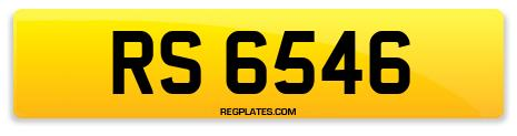 Registration RS 6546