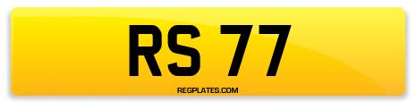 Registration RS 77