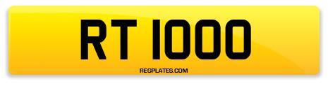 Registration RT 1000