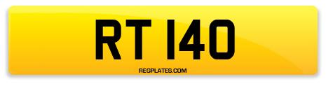 Registration RT 140