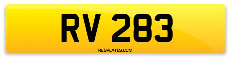 Registration RV 283
