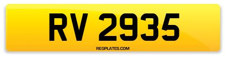 Registration RV 2935