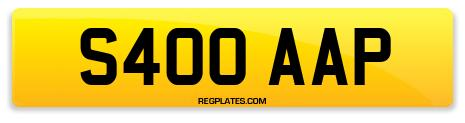 Registration S400 AAP