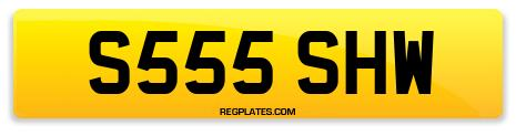 Registration S555 SHW