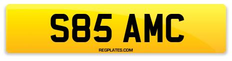 Registration S85 AMC