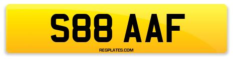Registration S88 AAF