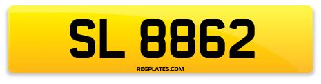 Registration SL 8862