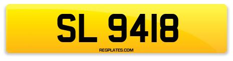 Registration SL 9418