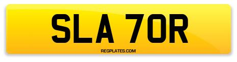 Registration SLA 70R