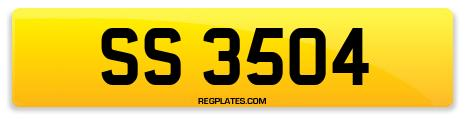 Registration SS 3504