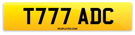 Registration T777 ADC