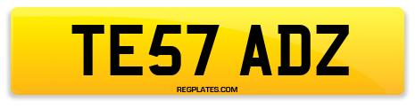 Registration TE57 ADZ