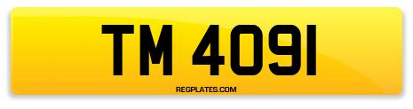 Registration TM 4091