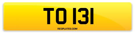Registration TO 131