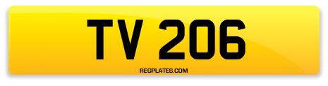 Registration TV 206