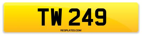 Registration TW 249