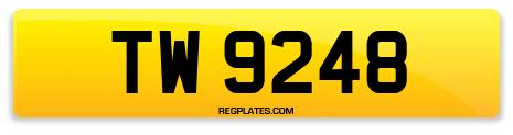 Registration TW 9248
