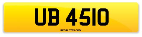 Registration UB 4510