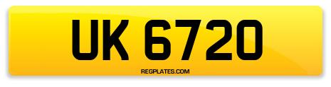 Registration UK 6720