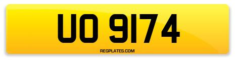 Registration UO 9174