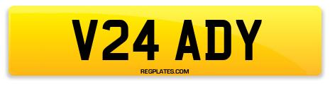 Registration V24 ADY