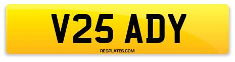 Registration V25 ADY