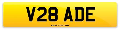 Registration V28 ADE