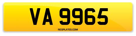 Registration VA 9965
