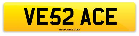 Registration VE52 ACE